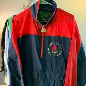 1996 Olympic Starter Windbreaker mint condition